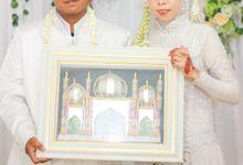The Marriage of Eni and Husni by Grafia Visual Sense