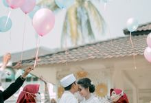 The Wedding Of Ulfa & Arjal by Villa Srimanganti