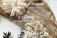 Classical Beauty by Trouvaille Invitation