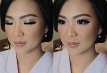 Our bride Shinta Marchelina by Vinna Gracia Makeup Artist