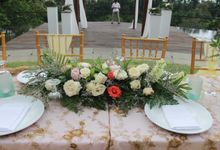 Wedding 1st Anniversary Dinner Set Up by CITTA Wedding