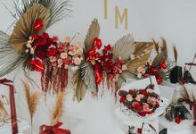 Indah Engagement Decor by Bloomette