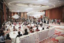 Decorated Wedding Hall Skenoo by IKK Wedding Venue