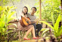 Love in the Rain by Foto Wedding Bandung