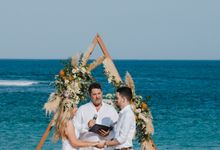 Summer - Modern Beach Wedding at Inaya Resort by Silverdust Decoration