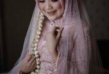 Akad Nikah Ceremony Puspita & Harits by LAKSMI - Kebaya Muslimah & Islamic Bride