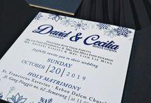 Wedding of David Gunawan and Cecilia Benita by Invitation by Pipin