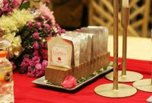 Naufal & Selly Wedding by D'LANIER Artisan Chocolates
