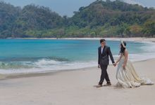 Prewedding pulau sangiang by Meemotret