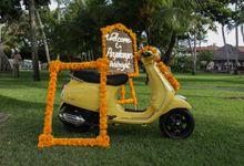 Indian Tradition Haldi Ceremony by Happy Bali Wedding