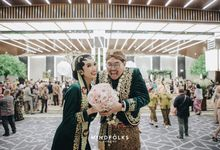 Javanese Reception of Kanya & Bintang by  Menara Mandiri by IKK Wedding (ex. Plaza Bapindo)