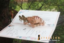 Fairy Tale theme invitation by Icreation