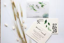 Single Board Invitations by Gifu Invitation & Souvenir