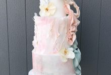 Wedding cake by Tell Cake Boutique