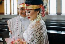 Holy Matrimony Kebaya for Sonora by Arthaputri Atelier