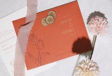 Davin & Audrey Invitation Suite by Sho Paper