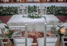 The Wedding of Vindha & Dhani di Gedung Al-Muaz Azazid by Decor Everywhere