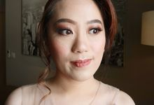 Sister of the Groom by Makeup by Merggy