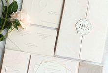 Hendrik & Audry by Vinas Invitation