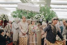 Wedding Reception Vanya & Brandy by  Menara Mandiri by IKK Wedding (ex. Plaza Bapindo)