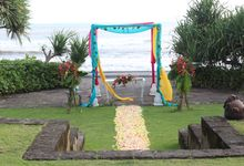 Wedding Ceremony of Jeroen and Merry by WakaGangga Resorts