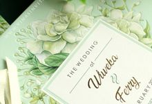 Wiweka & Ferry by Vinas Invitation