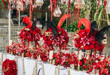 Wedding Decoration at The Edge by Red Gardenia