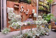 Intimate Wedding by Blue Jasmine Restaurant