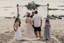 Kylie and Bill Renewal Vows by Happy Bali Wedding