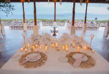 Tropical Lush Paradise Wedding at Amankila Villa, Bali by Silverdust Decoration