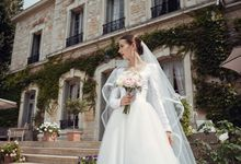 Yuliya wedding by Nicolas Laville Couture