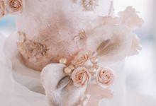 The Wedding of Simon + Silvia by K.pastries
