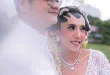 The Wedding Of RIFA & ETO by Beblooms Wedding
