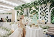 SEATING WEDDING SUNDANESE-INTERNATIONAL PARTY OF JON & JEZZY by  Menara Mandiri by IKK Wedding (ex. Plaza Bapindo)
