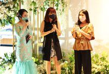 Wedding of Harman & Hesti by JIMMY & LIECHEN MC and Magician Wedding Specialist