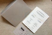 Letterpress Putri & Angga by Bubble Cards