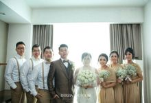 The wedding day of Lucky and Fiesty by VT Makeup Artist by Veronikatani