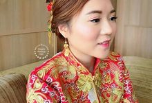 CuiCui | Traditional Chinese wedding  by Stephy Ng Makeup and Hair