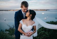 Anthea and Simons Wedding by Hadarah Hair and Makeup