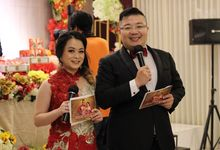 Engagement of Nana & Wewe by JIMMY & LIECHEN MC and Magician Wedding Specialist