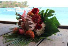 Wedding Bali Hai - Nusa Lembongan 04 Agt 2019 by Bali Bless Florist