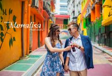 casual couple shoot by NEW MONALISA PHOTO STUDIO