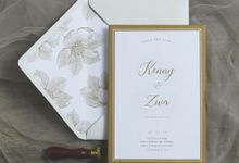 Kenny + Ziva by Caramel Card