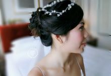 JenLim Wedding Day by Stephy Ng Makeup and Hair