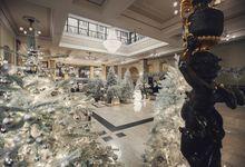 Silver Christmas by Maria German decor