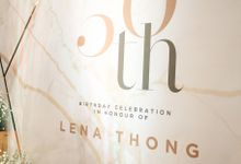 Birthday of Ms Lena Thong by La'SEINE Function Hall