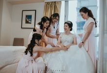 Andra & Doris wedding day by lop