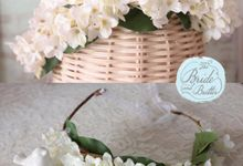 CUSTOM FLOWER CROWN by The Bride and Butter