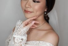Wedding Makeup for Ms Stefany by RiaLuo Makeupartist