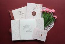 Bella & Manabu by Vinas Invitation